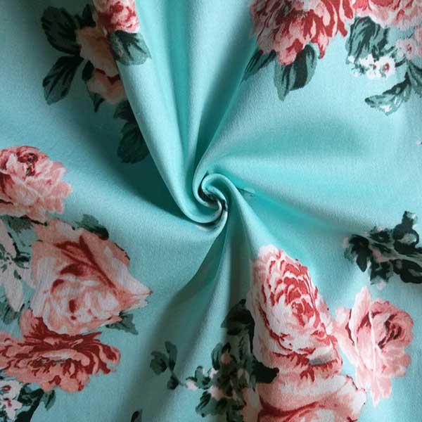 cotton 300TC bedding satin fabric